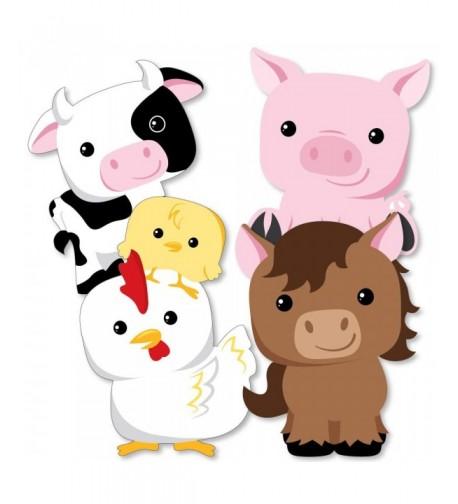 Farm Animals Decorations Birthday Essentials