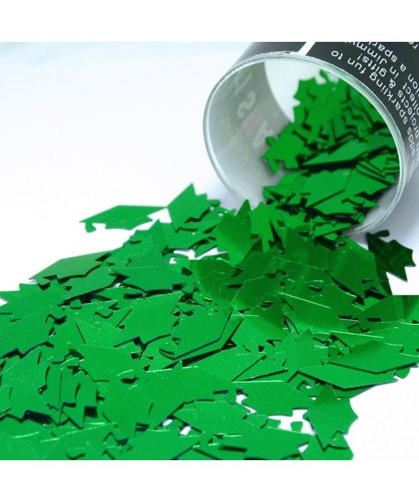 Confetti Grad Caps Green Retail