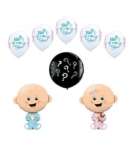 Gender Reveal Shower Balloon Decoration