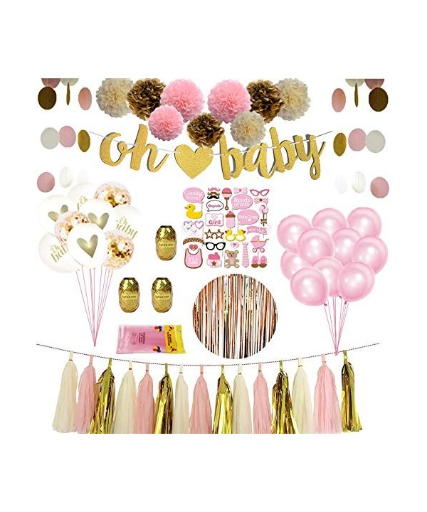 Shower Party Confetti Balloons Backdrop