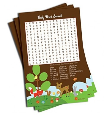 Word Find Search Woodlands 50 sheets