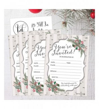 Family Christmas Party Invitations for Sale