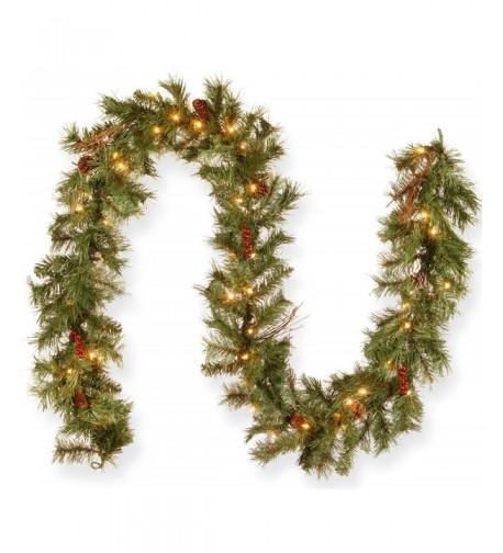 National Tree Glistening Garland GN19 300 9A 1