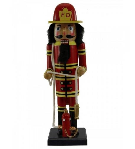 Wooden Fireman Nutcracker Gift 155212
