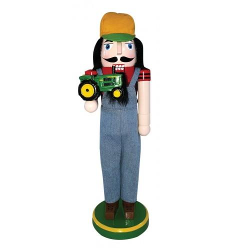 Santas Workshop 70892 Tractor Nutcracker