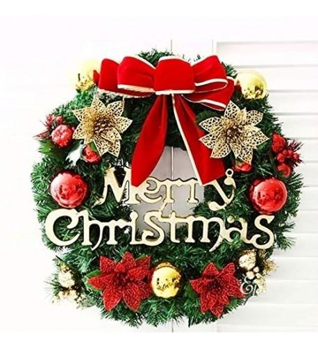 SMYLLS Christmas Wreath Ornaments Flowers