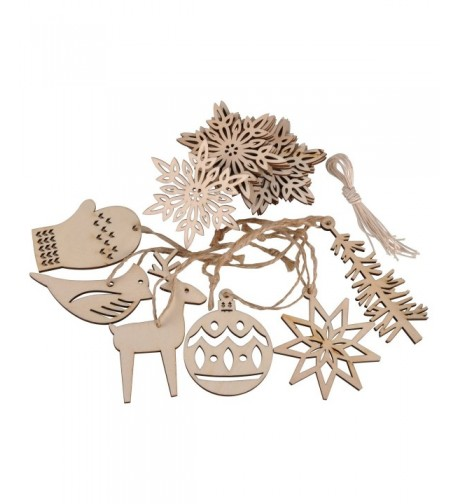 eZAKKA Christmas Ornaments Embellishments Decorations