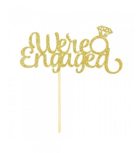 Engaged Diamond Ring Gold Decoration Supplies