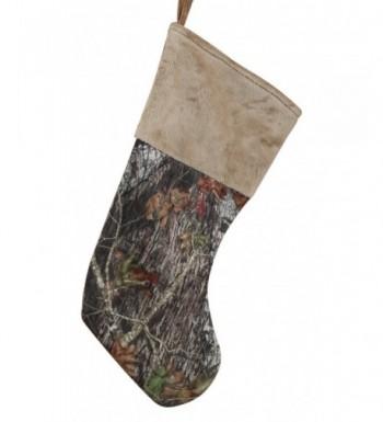 Carstens Mossy Camo Christmas Stocking