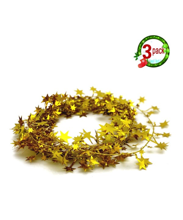 Garland Tinsel Christmas Decorations Accessory