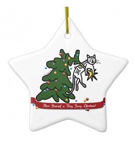 Christmas Ornaments Catastrophe Cartoon Ornament