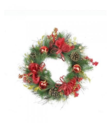 Northlight Glittered Artificial Christmas Wreath Unlit
