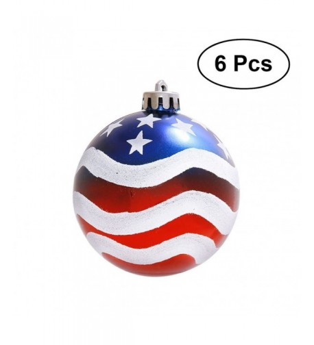 LUOEM Patriotic Ornaments Independence Decorations