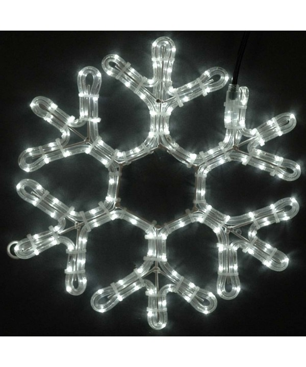 Novelty Lights Christmas Snowflake Sculpture