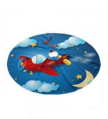 Cartoon Airplane Christmas Gorgeous Decoration