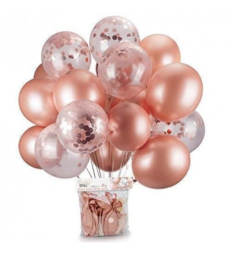 Rose Gold Balloons Confetti Pack