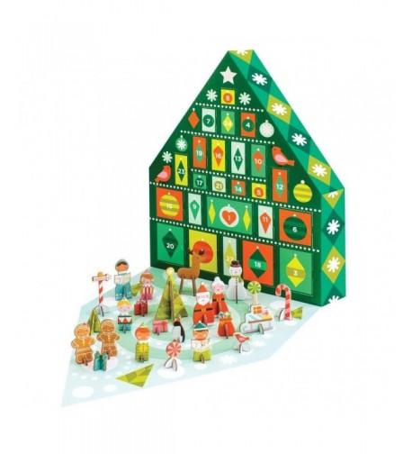 Petit Collage Pop Out Advent Calendar