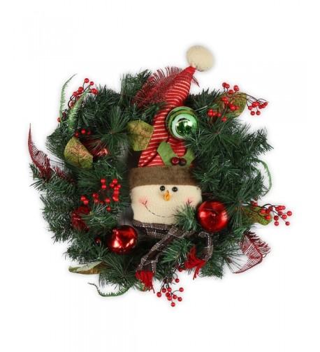 AMERIQUE AMSNWR24 RD Premium Outdoor Christmas