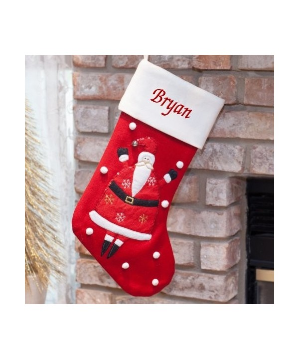 GiftsForYouNow Personalized Christmas Stocking Embroidered