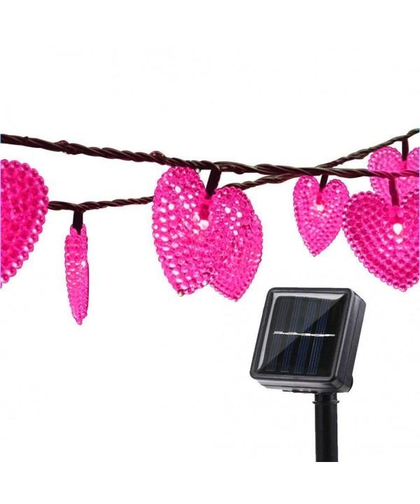 LAFEINA Heart Shaped Waterproof Christmas Decoration