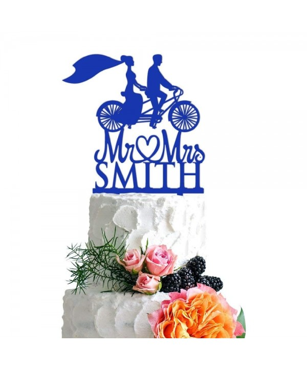Lab Bicycle Wedding Acrylic Decoration
