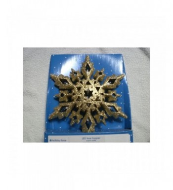 Holiday Time Snowflake Topper White