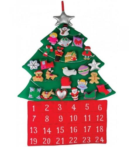 Christmas Fabric Advent Calendar Countdown x