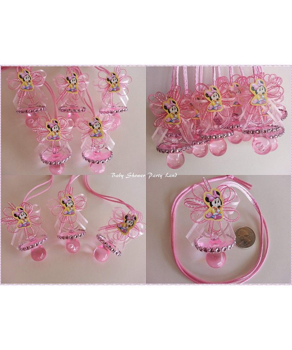 Minnie Baby Pacifier Necklaces Shower