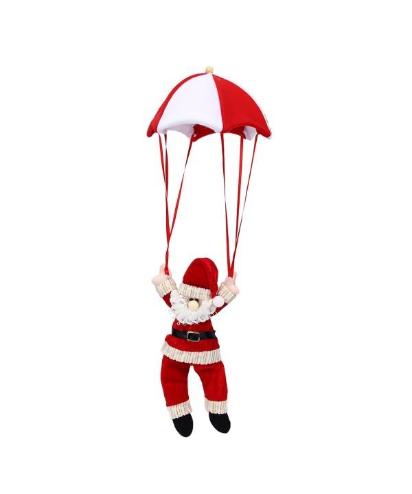 Mochiglory Snowman Parachute Reindeer Ornament