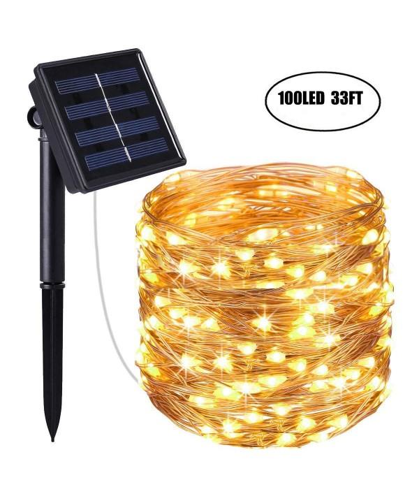 Laswumen Solar Powered String Lights
