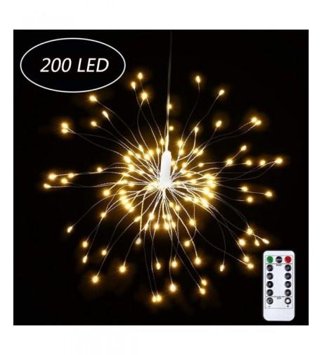 LOVAC Firework Starburst Lighting Christmas