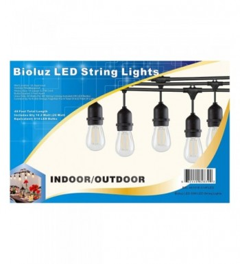 Bioluz LED Outdoor Weatherproof Sockets