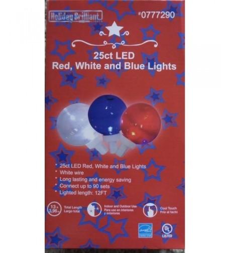 white blue indoor outdoor lights