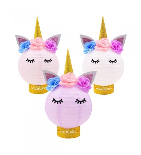Decorations Unicorn Centerpieces Lanterns Birthday Supplies