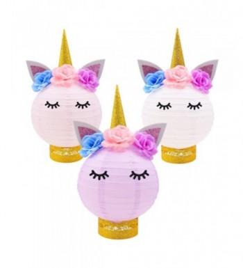 Decorations Unicorn Centerpieces Lanterns Birthday Supplies
