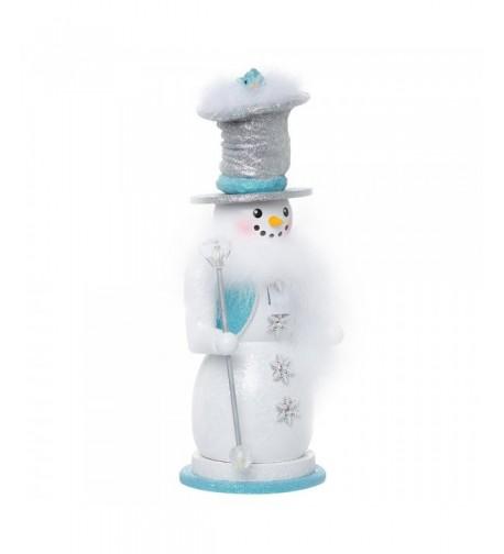 Kurt Adler Hollywood Snowman Nutcracker