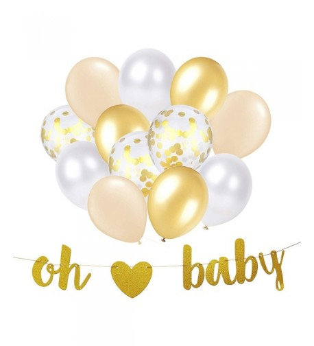 Banner Decorations Neutral Shower Balloon