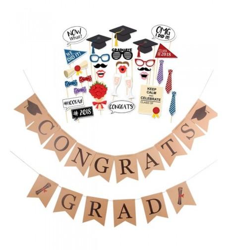 Faylapa CONGRATS Graduation Decoration Supplies