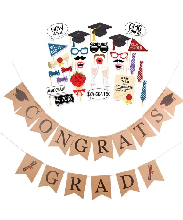 Faylapa CONGRATS Graduation Decoration Supplies
