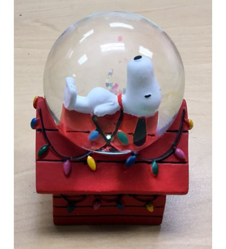 Peanuts Doghouse Christmas Snowglobe Westland