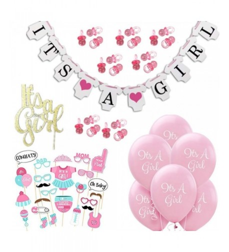 Baby Shower Decorations Girl Pacifiers