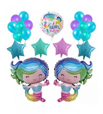 Mermaid Balloons 28inche Birthday Decorations