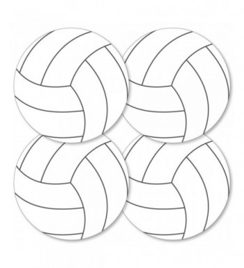 Bump Set Spike Volleyball Decorations