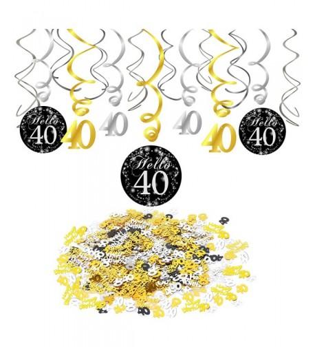 Konsait Birthday Decoration Confetti Decorations