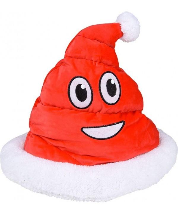 Christmas Plush Emoji Santa Poop