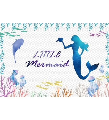 LFEEY Underwater Jellyfish Photography Background