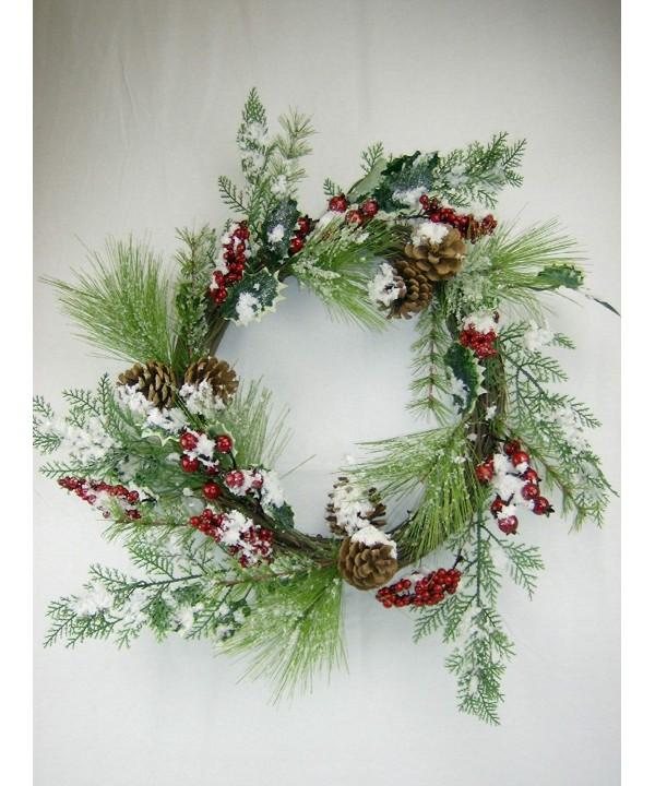 Christmas Holiday Greenery CHOICE WREATH