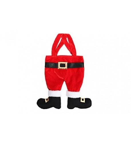 DEI Santa Pants Stocking Polyester