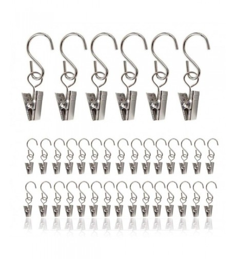 TCBOY Curtain Hangers Stainless Decoration