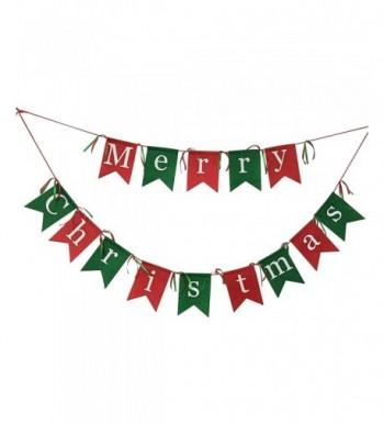 Non woven Fabrics Christmas Garlands Decoration